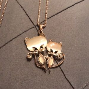 Pretty Kittens Necklace